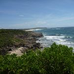 View north from near Caves Beach Road in Caves Beach (387572)