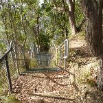Metal staircase near Rocky-high view point (389906)