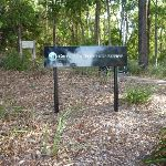 Sign at the Dilkera Ave entrance to Green Point Reserve (389972)