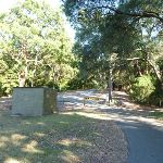 Old brick building at the end of Lookout Road in Blackbutt Reserve (399505)