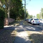 Lookout Road and footpath near Blackbutt Reserve (400567)