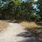 Concrete footpath in Green Point Reserve (403177)