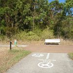 Shared bicycle/walking path in Green Point Reserse (403990)