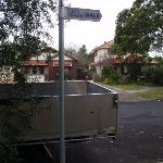 Rail to River walk sign (55973)