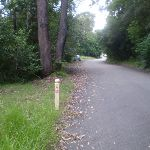 Great North Walk marker near Hornsby (6658)