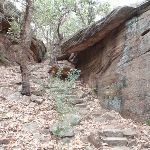 Stairs through rock formations (73623)