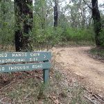 Signpost next to the Oaks Fire Trail (73944)