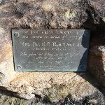 Plaque at Martin's Lookout (74403)