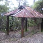 One of the corrugated iron shelters near the carpark (7571)
