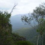 Looking out over the Jamison Valley from the National Pass (7700)