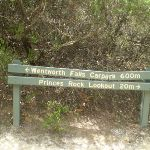 Sign to Wentworth Falls carpark (7766)