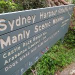 Sign along the Manly Scenic Walkway (82339)