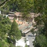 Looking down on Cave's House from Carlotta's Arch (8525)