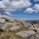 Top of Mt Twynam with old trig station (89359)