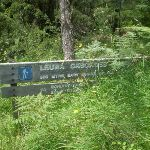 Sign at the start of walk (9674)