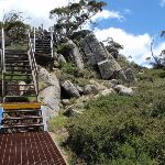Climbing up to the main Range Lookout (96781)