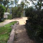Stairs down from Govetts Leap car park (98510)